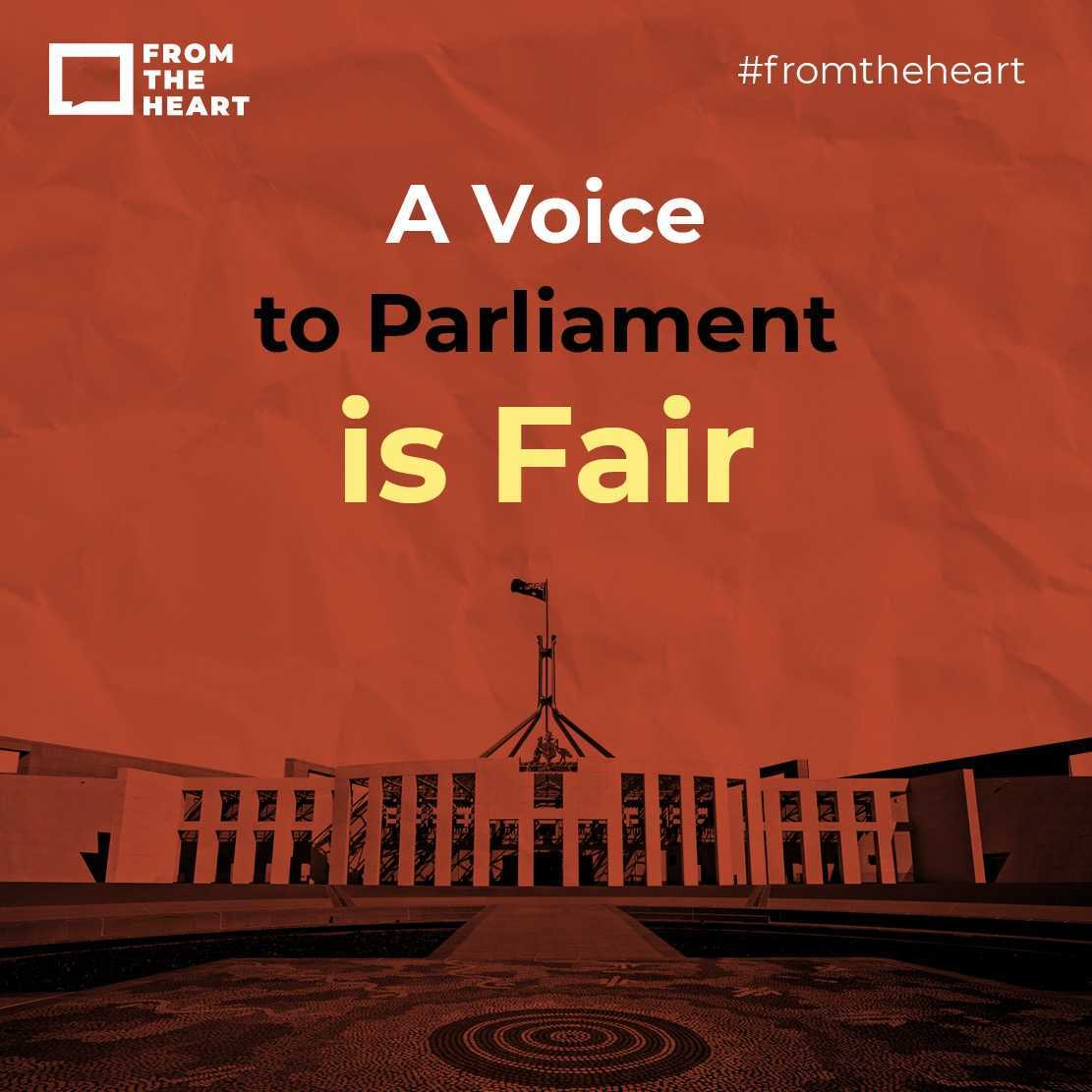 A Voice to Parliament is Fair Instagram template