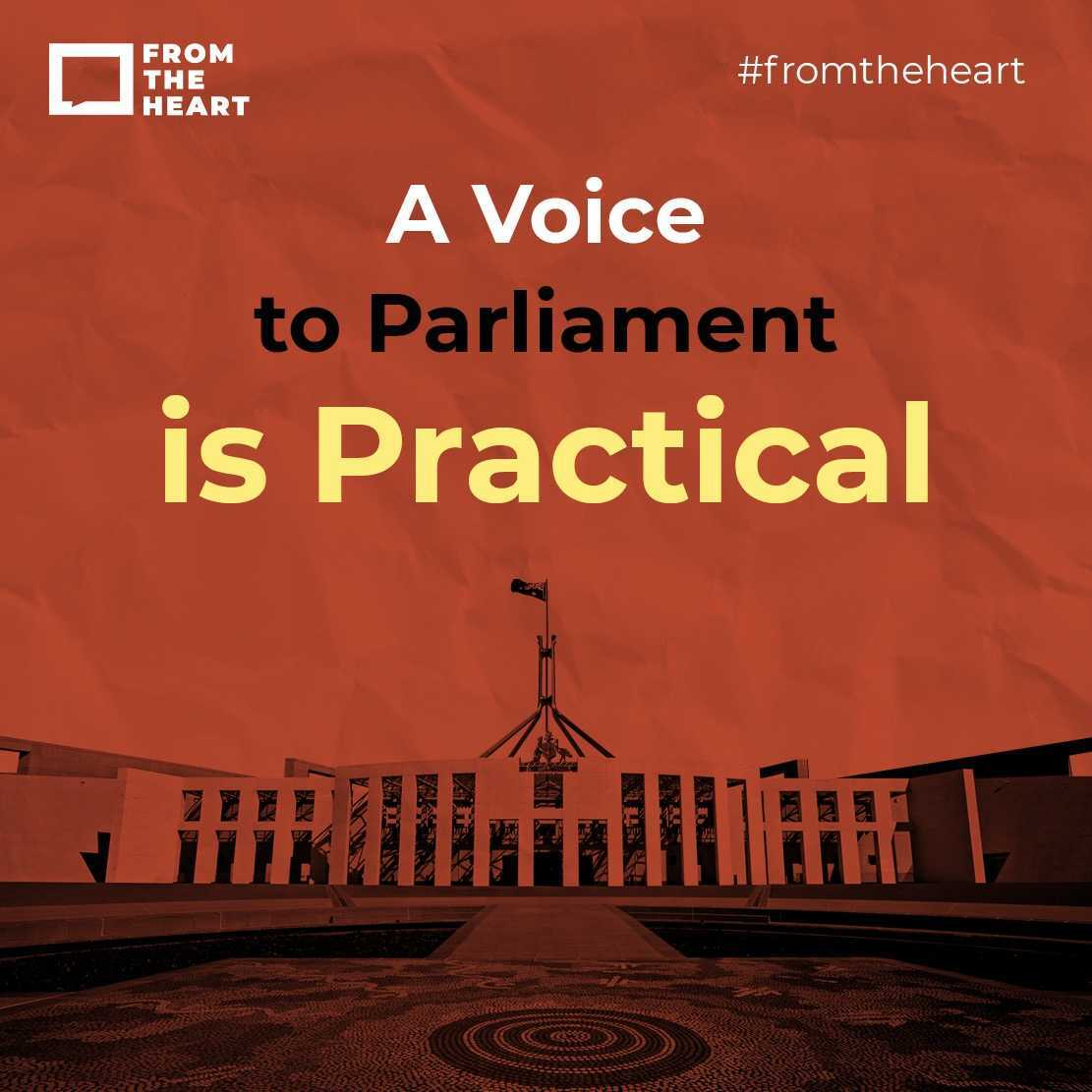 A Voice to Parliament is Practical Instagram template
