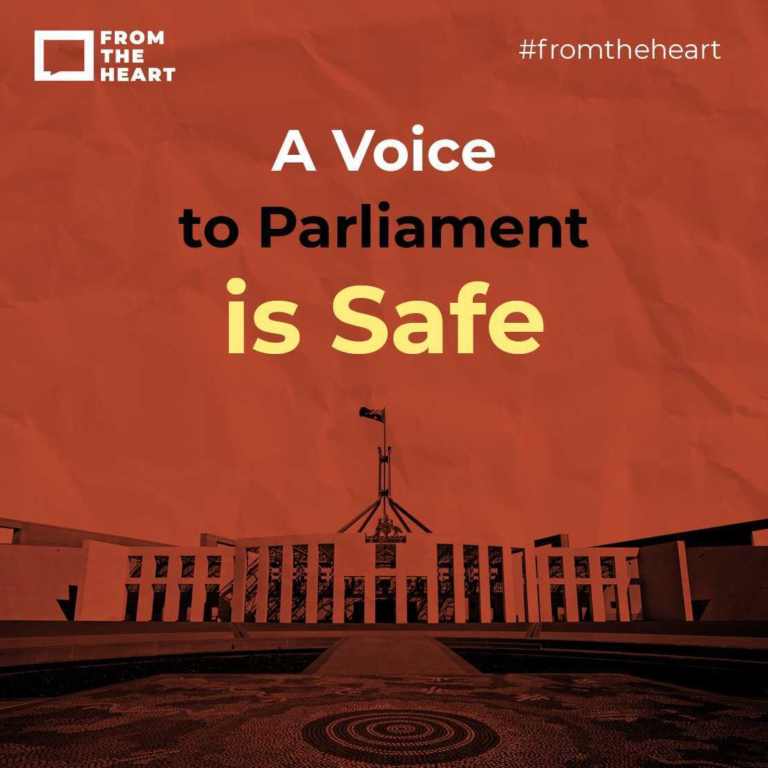A Voice to Parliament is safe Instagram template