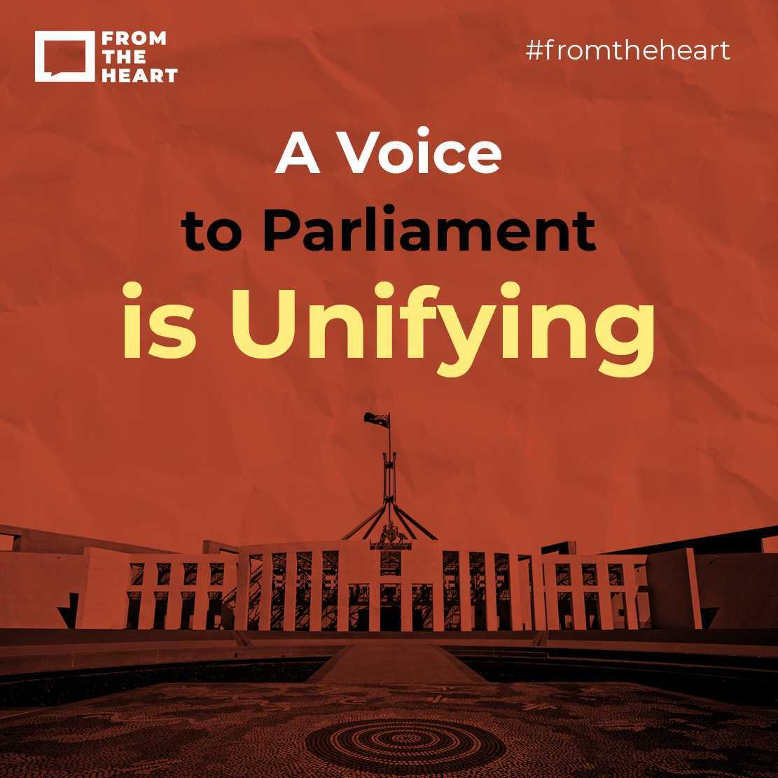 A Voice to Parliament is unifying Instagram template