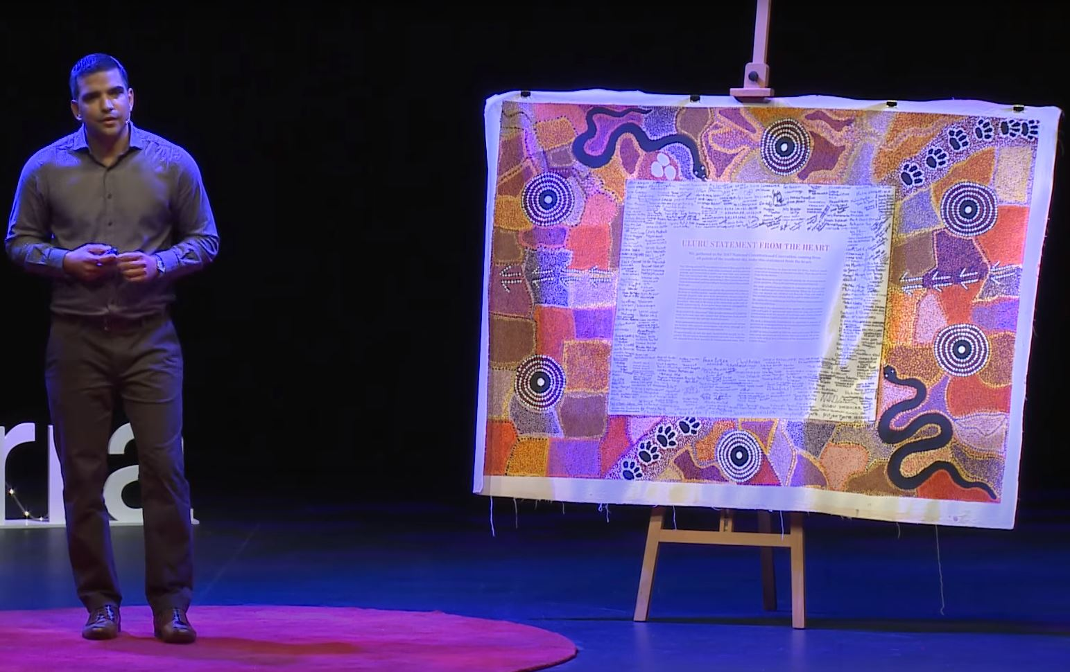 The Uluru Statement From The Heart - an idea whose time has come   Dean Parkin   TEDxCanberra