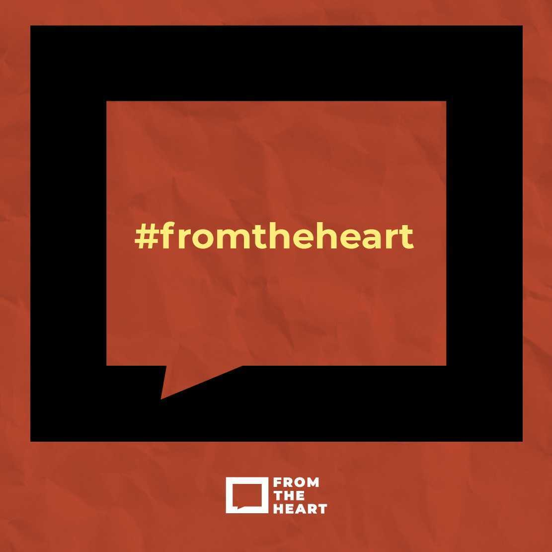#fromtheheart Instagram template
